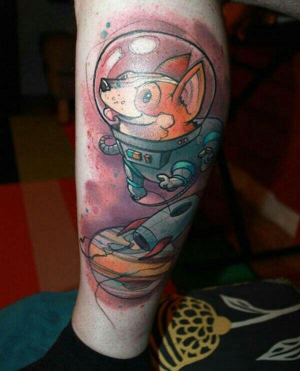 Space corgi tattoos pinterest corgis and spaces for Kati vaughn tattoo