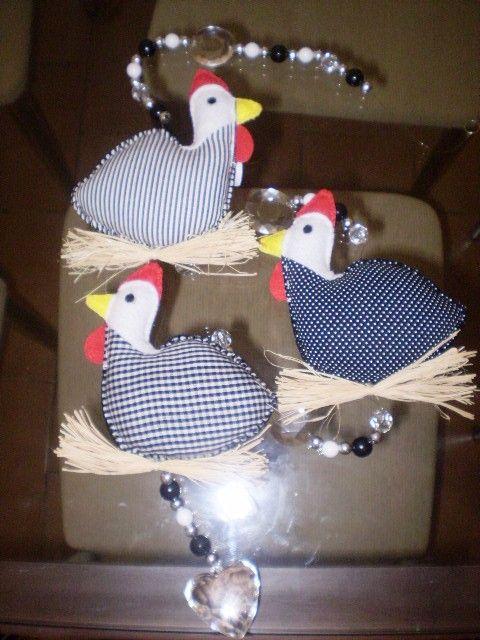 Móbile galinha da angola