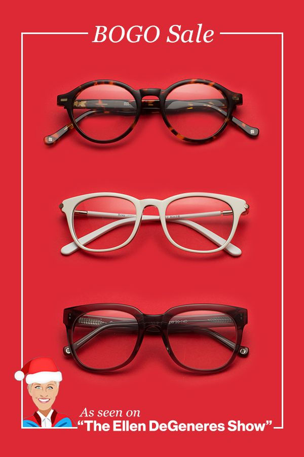 886f9d18165 As seen on The Ellen DeGeneres Show - Buy One Get One Free Sale on all  frames + free shipping. Shop now!