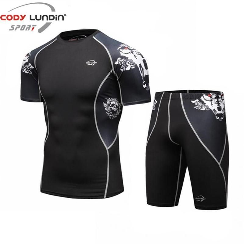 Cody Lundin Compression Short Sleeve Shirt and Pants MMA