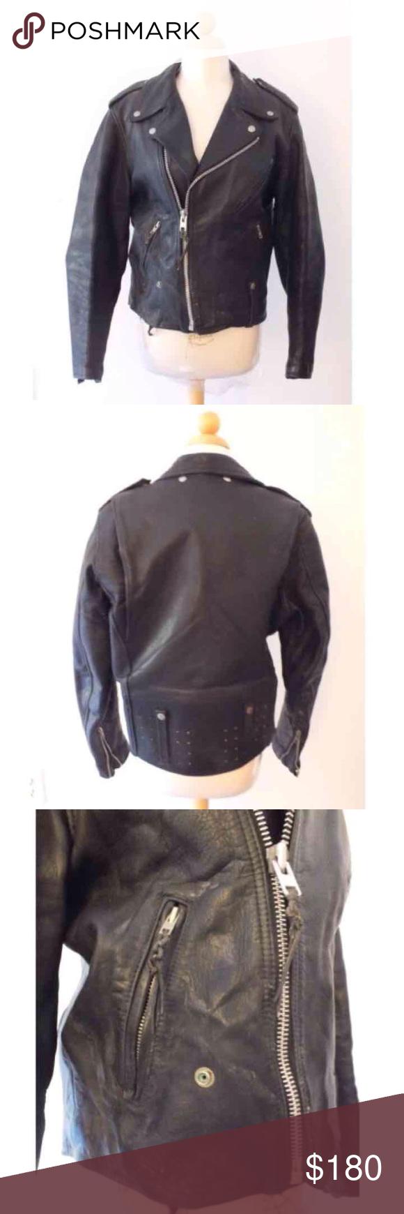 SOLD Vtg Harley Davidson Women's Leather Jacket Jackets