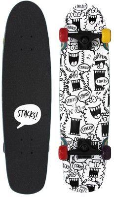 Stacks Monster Cruiser 30 5 Complete Skateboard - Skate Shop