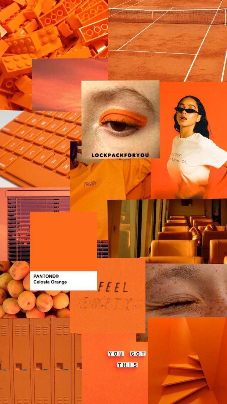"Ã"" Á´˜ÉªÉ´á´›á´‡Ê€á´‡sá´› Á´ÊÊŸá´‡É´á´€ ʙᴀᴄʜᴍᴀɴɴ Aesthetic Collage Orange In 2020 Orange Aesthetic Aesthetic Wallpapers Aesthetic Collage"