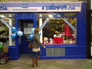 Our newmarket charity shop s st anniversary rspca cambridge