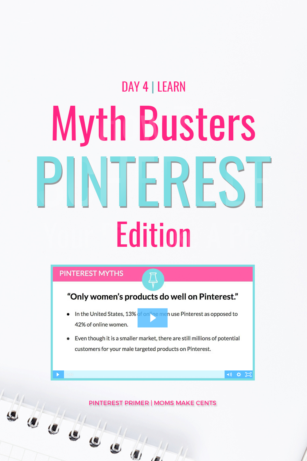 Want To Learn How To Grow Your Page Views With Pinterest Check Out This Free 5 Day V Pinterest For Business Pinterest Marketing Strategy Free Pinterest Course