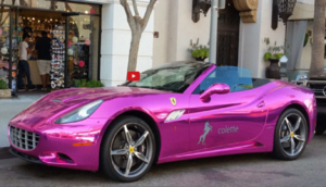Chrome Pink Ferrari California in Beverly Hills - Blooper News - News by you for… #TheFast&theLuxurious #pinkferrari Chrome Pink Ferrari California in Beverly Hills - Blooper News - News by you for… #TheFast&theLuxurious #pinkferrari