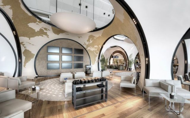 Turkish Airlines Cip Lounge Istanbul By Autoban Interior Design Architecture