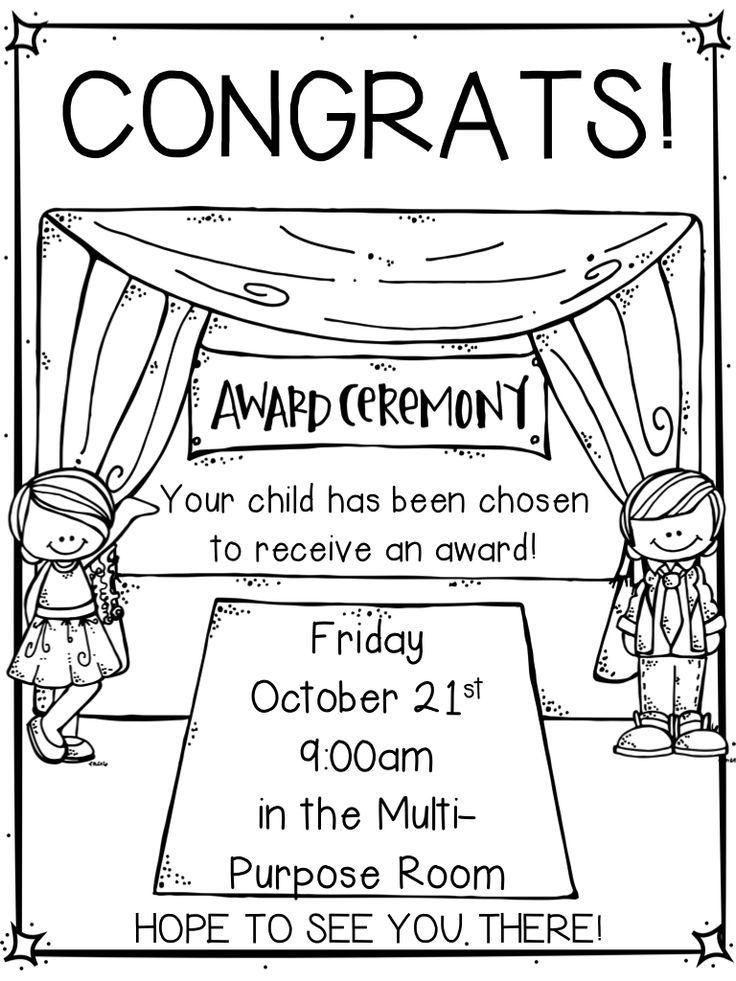 awards and stuff