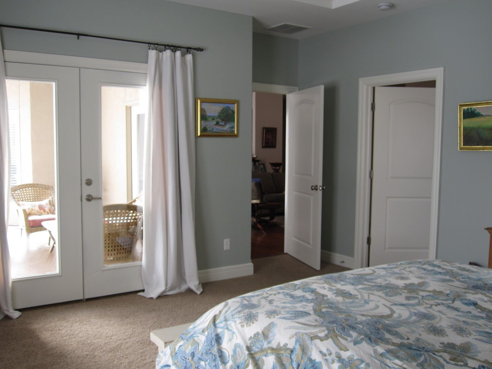Gray wisp color for my bedroom paint colors ideas - Master bedroom and bathroom paint colors ...