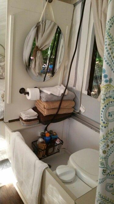 Pop Up Tent Trailer Popup Camper, Popup Camper With Bathroom