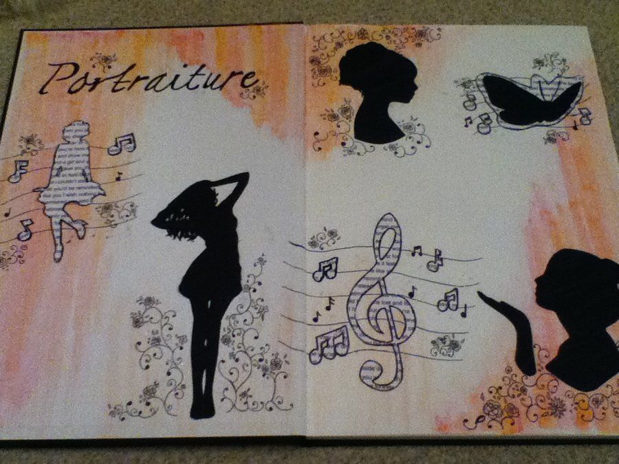 Art Sketchbook Title Page By Kittyliz701 On Deviantart