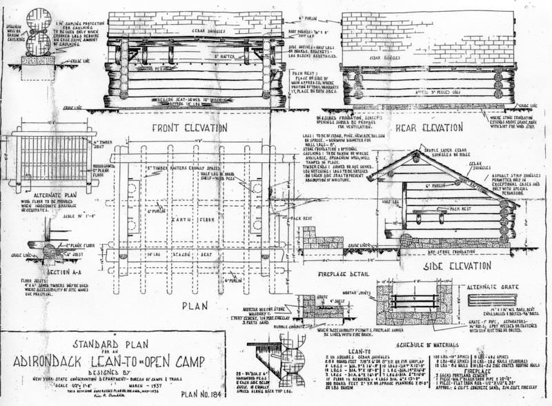 Lean to plan small house plans pinterest camping for Lean to shelter plans
