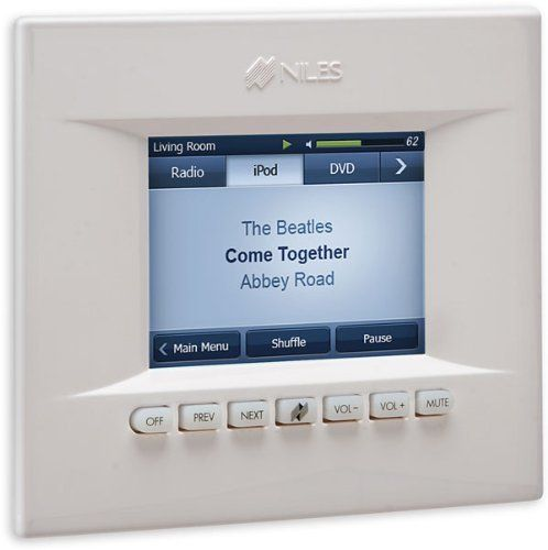 Niles TS-PRO In-wall touchscreen LCD keypad for Niles ZR-6