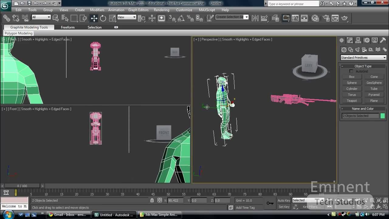 3ds Max Tutorial - How to Import and Merge files into your