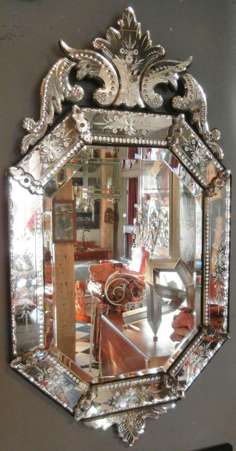 antique mirror bear glass - HD768×1466