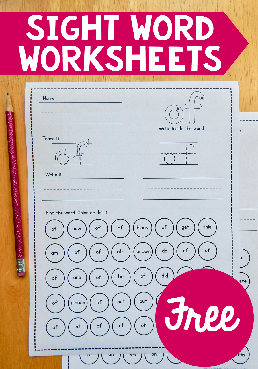 Current image regarding sight words kindergarten printable