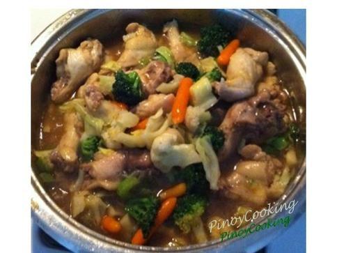 Chicken Chop sui
