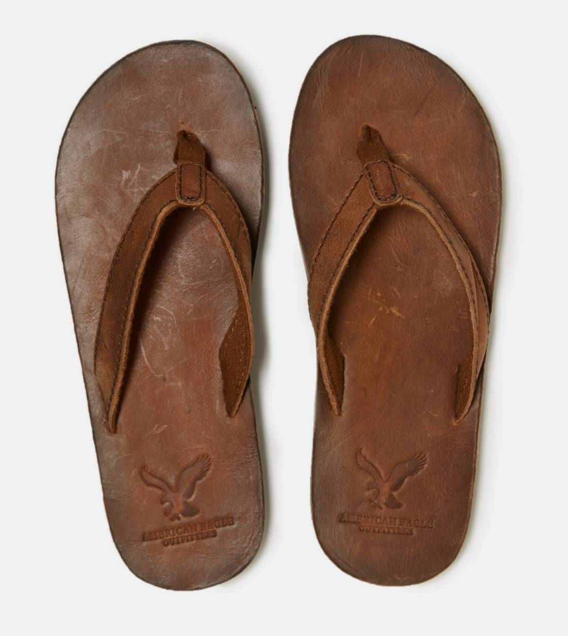580a82cd3cd6 AEO Leather Flip-Flop Style  1215-6176