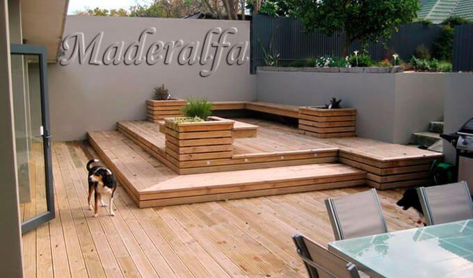Como f brica de tarimas macizas para exterior seleccionamos la mejor materia prima importamos - La mejor madera para exterior ...