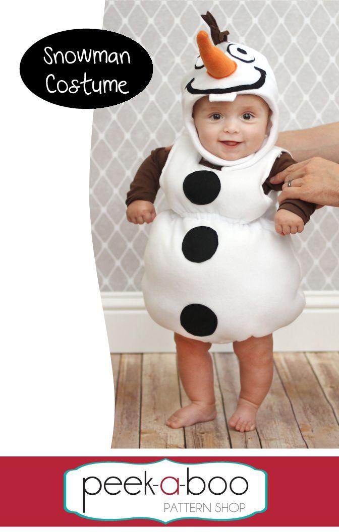 Snowman Costume | Sewing: Free Patterns | Pinterest | Fasnacht ...