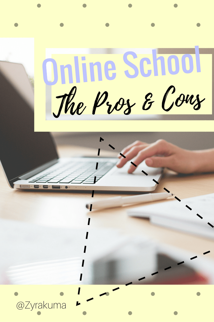 pros and cons of online school