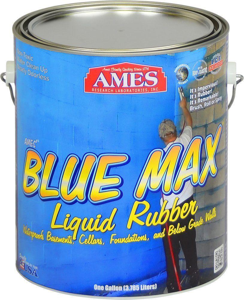 Waterproofing basement walls Ames Blue Max Liquid Rubber