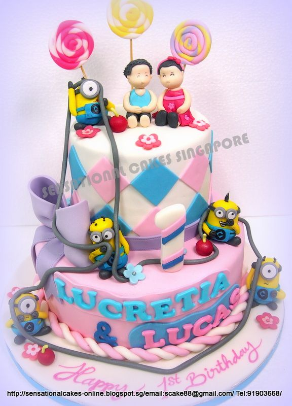 amazing tiered birthday cakes Google Search Fancy cakes