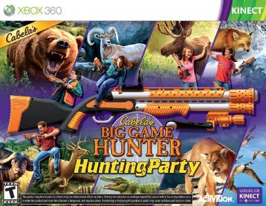 Amazon com: Cabela's Big Game Hunter Hunting Party with Gun