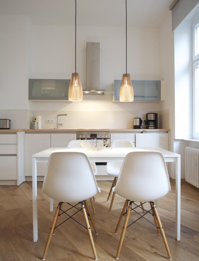 Белая кухня в стиле минимализм | Kitchen | Pinterest | Neue wohnung ...