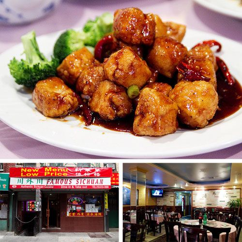 Famous Sichuan Fine Chinese Food In Chinatown Without The Wait Nyc Food Food Sichuan