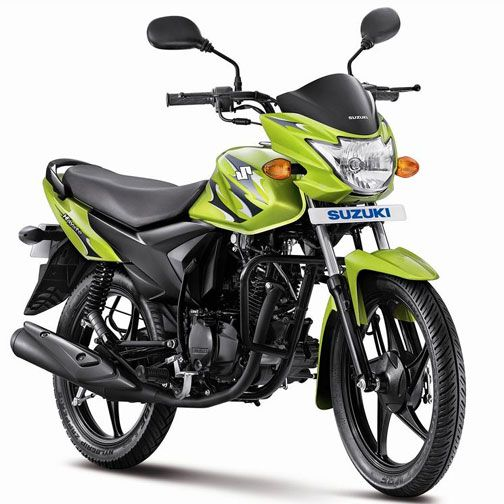 The 4-stroke, air-cooled, 112 cc engine powered #Suzuki #Hayate is