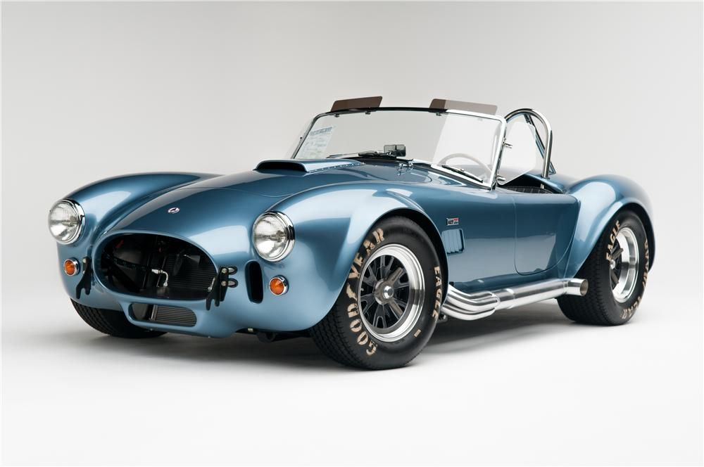 Viking Blue 1965 Shelby Cobra Csx 6000 Roadster 1965 Shelby