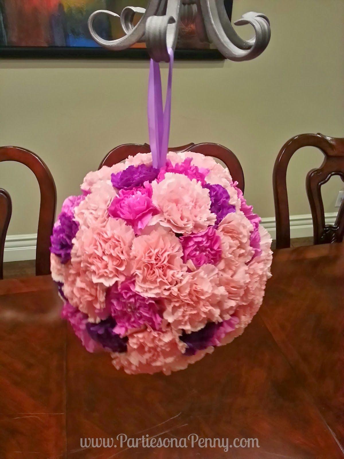 DIY Floral Pomander \