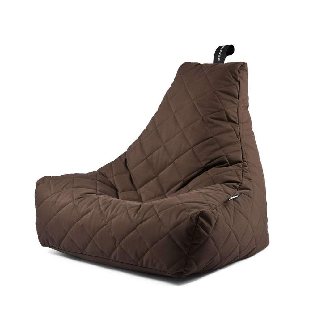 Extreme Lounging B Bag Mighty B Quilted Outdoor Sitzsack Sitzsack Sackchen Sitzen
