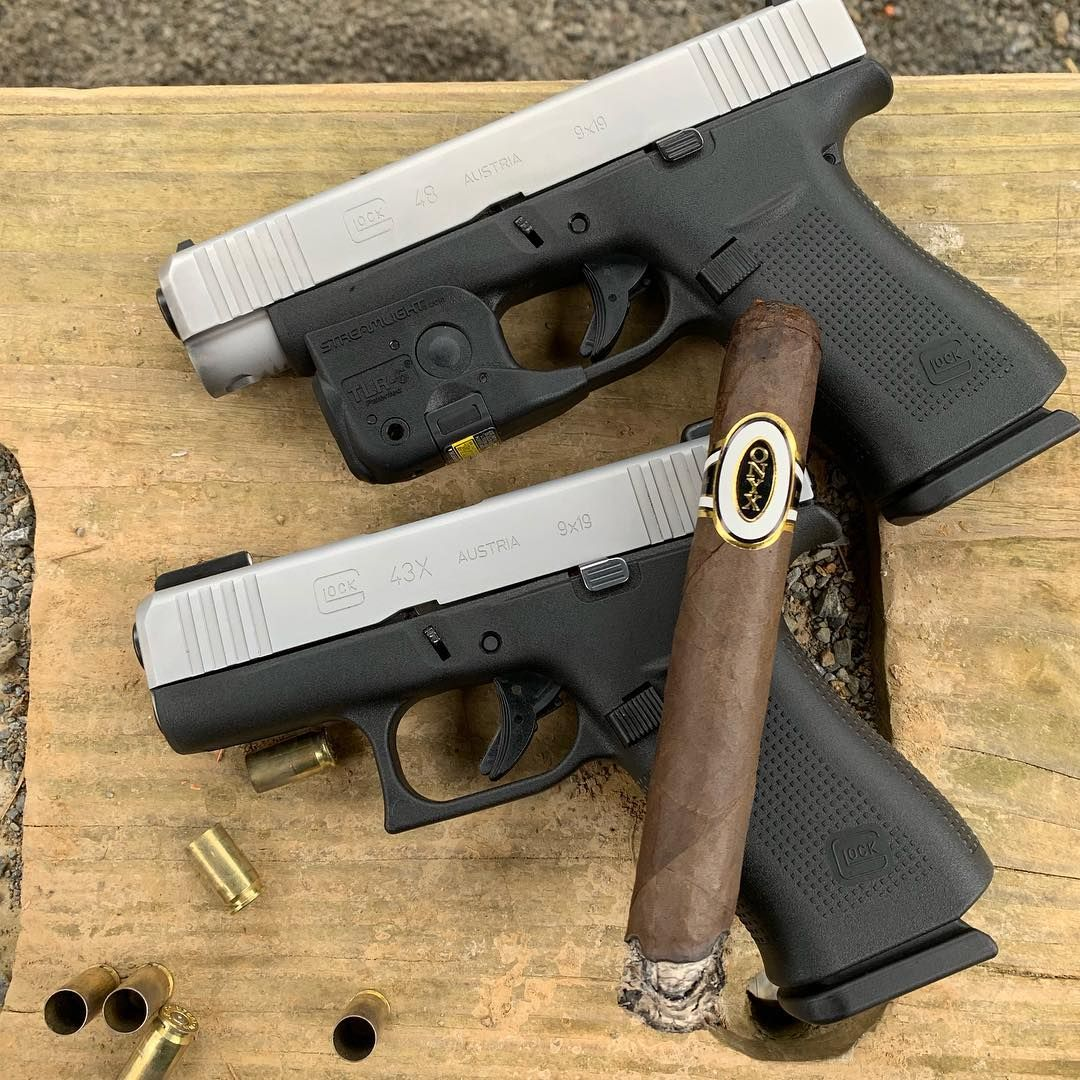 """Mike on Instagram: """"Comparing Mama's new Glock 48 to my 43x"""