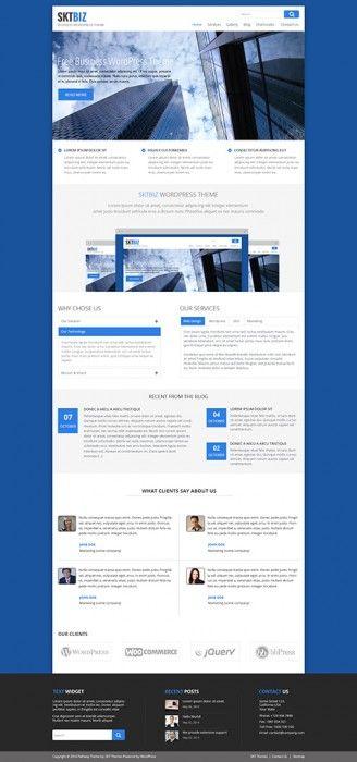 Custom Company Profile Wordpress Desain Website