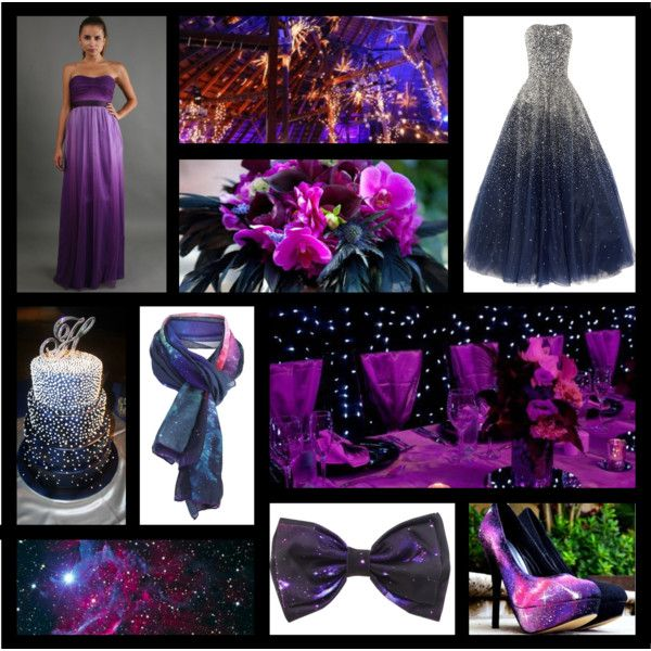 wedding ideas with purple theme galaxy themed wedding inspiration by bellememorie on 28363