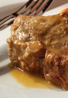 Braised Ribs — Country-style pork ribs are browned with savory spices and braised in broth, orange juice and Thousand Island Dressing. The result? Delicious.