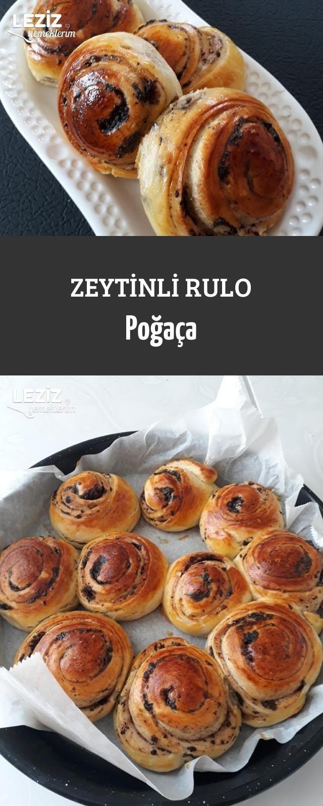 Zeytinli Rulo Poğaça
