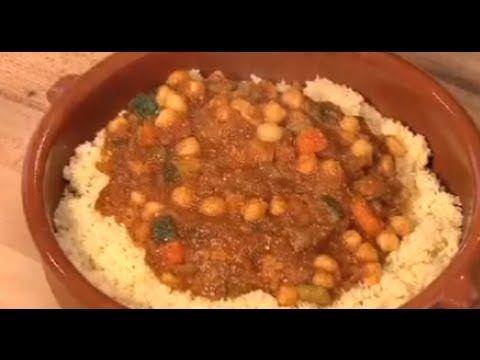 RECETA DE GARBANZOS AL CURRY CON CUSCUS - COCINA HALAL - YouTube ...