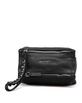 2e6d03209a Pandora Sugar Wristlet Bag, Black by Givenchy at Neiman Marcus. Pandora  Wristlet Leather Pouch ...