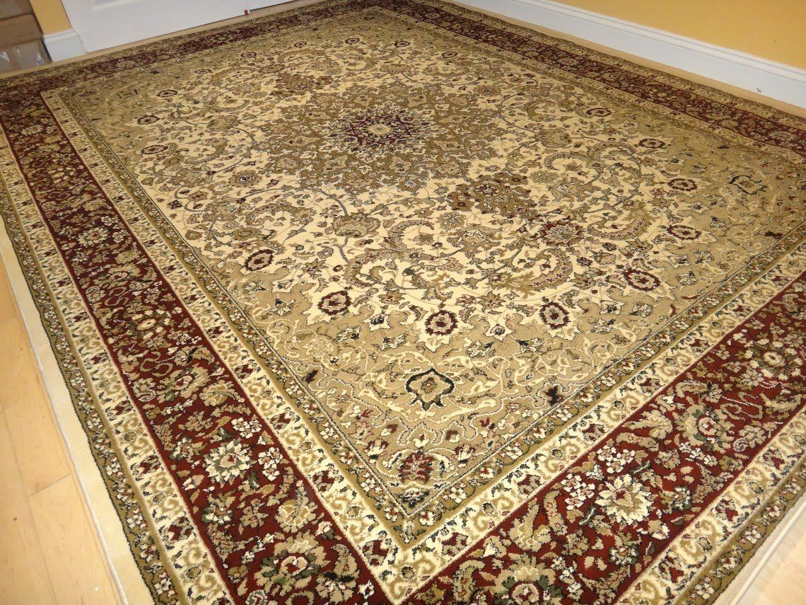 Amazon Com Large 8x11 Ivory Persian Shiraz Style Rug