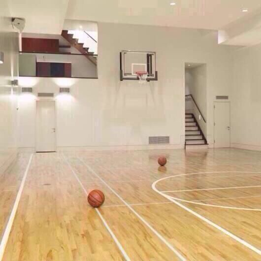 Super Cool In Home Court Home Basketball Court Indoor Basketball Indoor Basketball Court