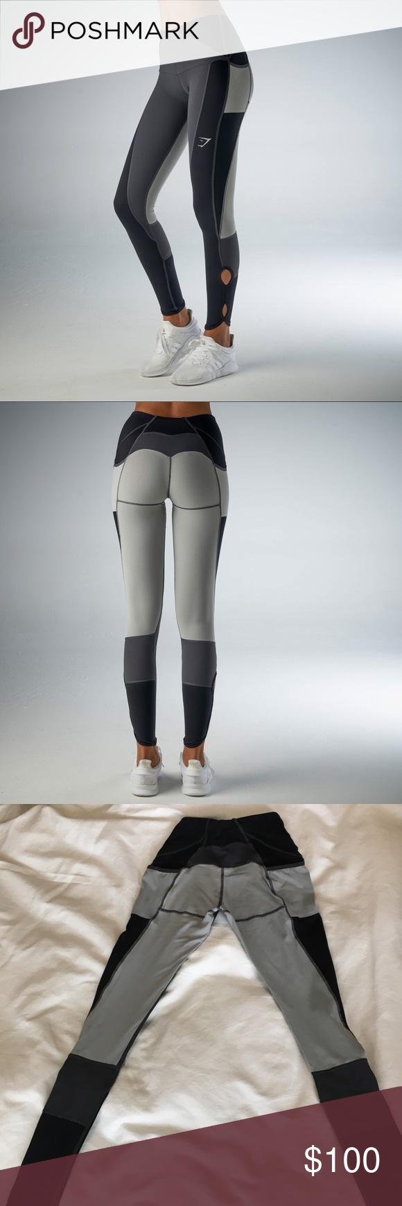 9260c79ef26460 Gymshark Prism Leggings - Black/Charcoal/Lt. Grey Gymshark Prism Leggings  in Black