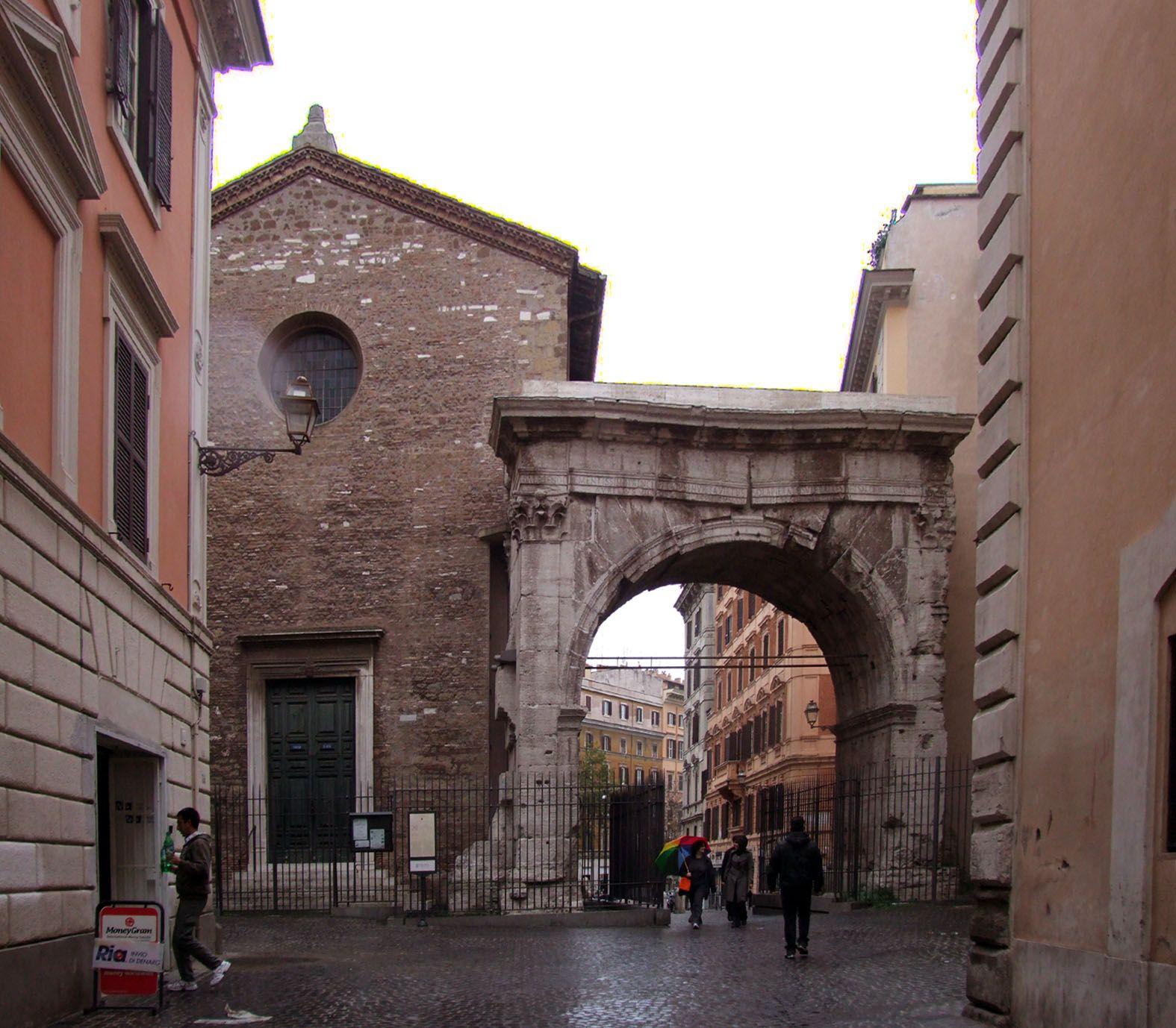 Der Gallienusbogen in Rom