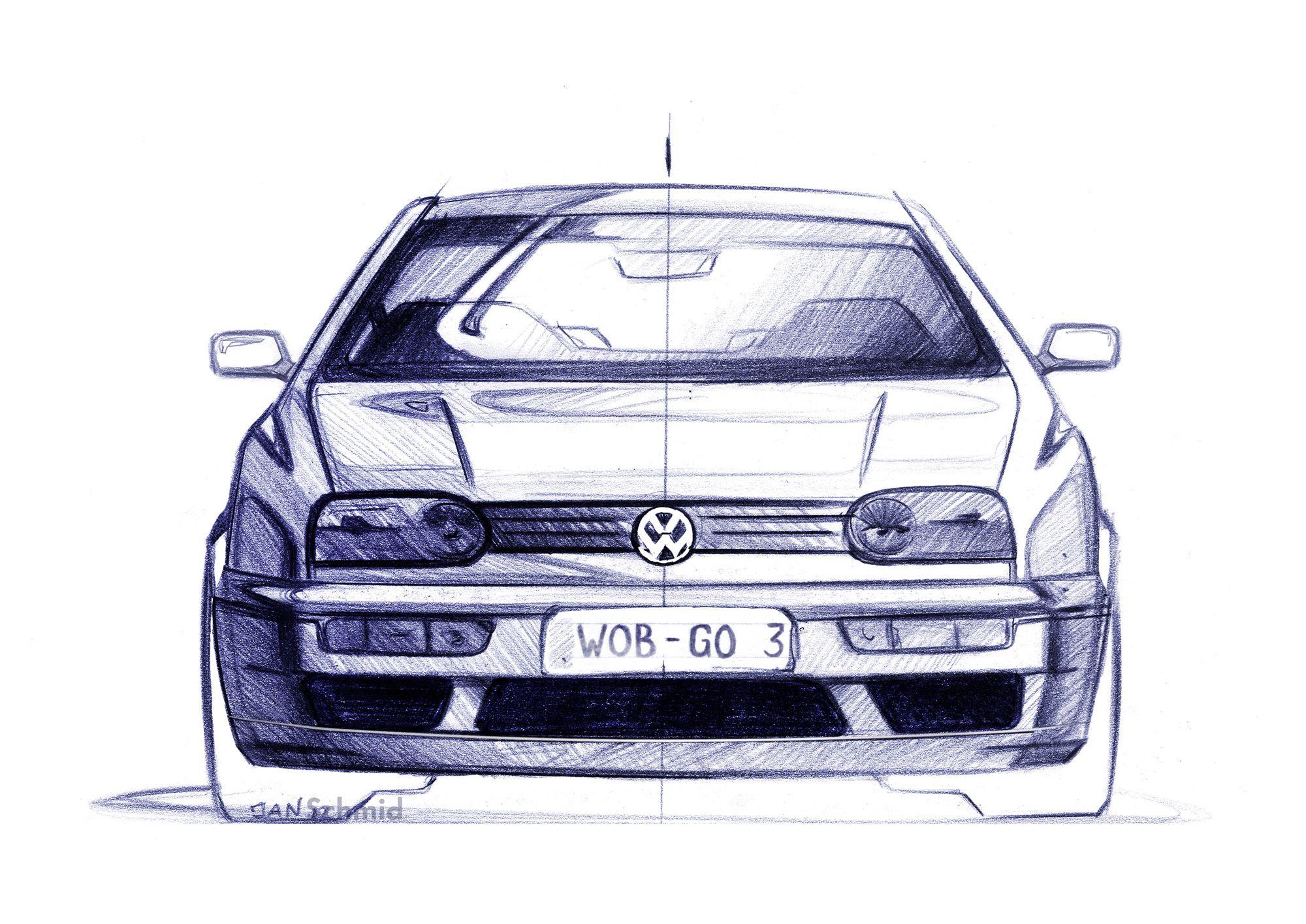 Volkswagen Golf dritte Generation