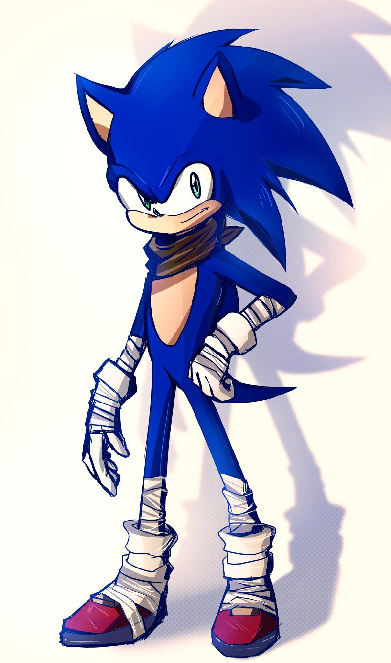 Boom Sonic By Tiffany Tees Deviantart Com On Deviantart Sonic