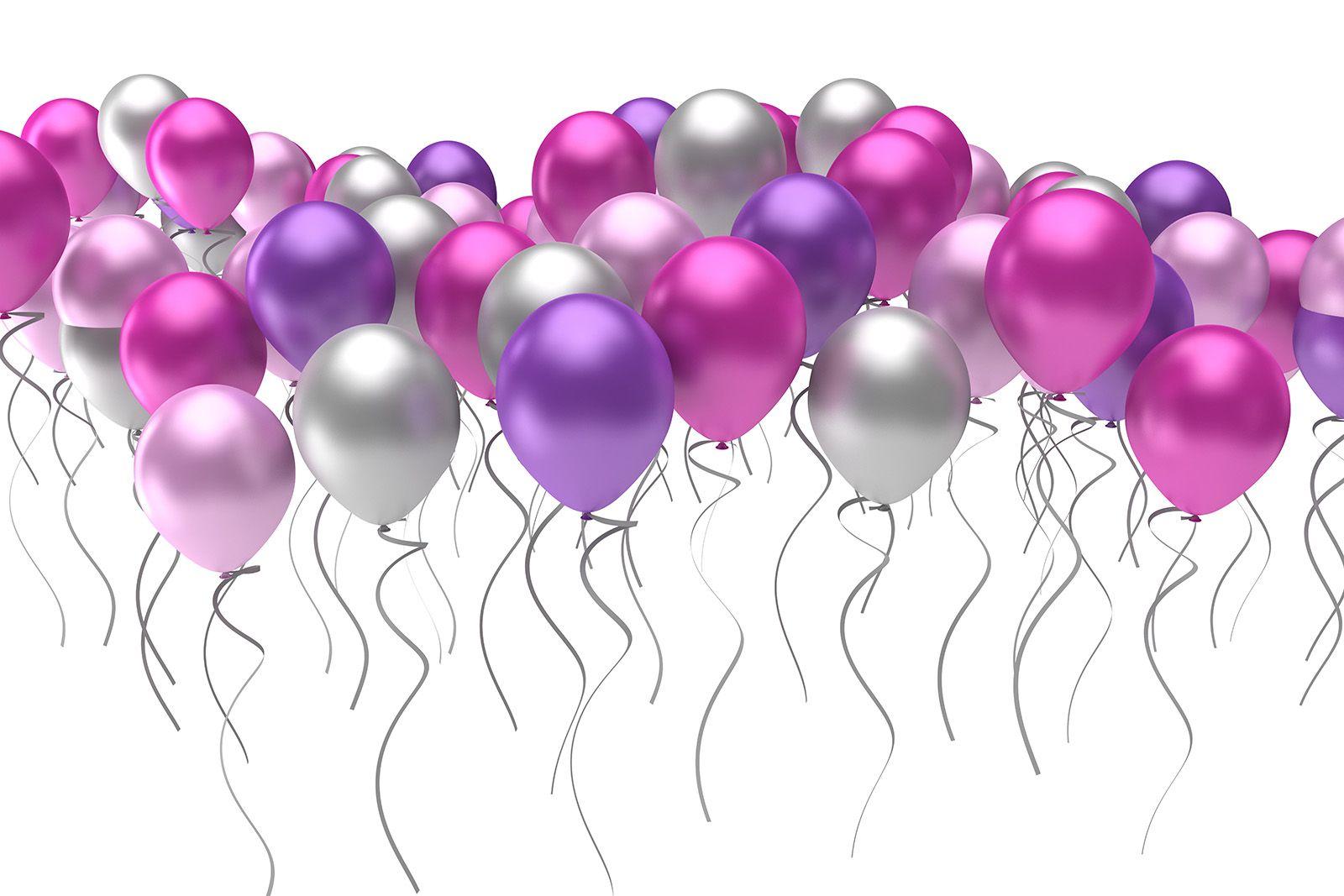 New Year Balloon Wallpaper