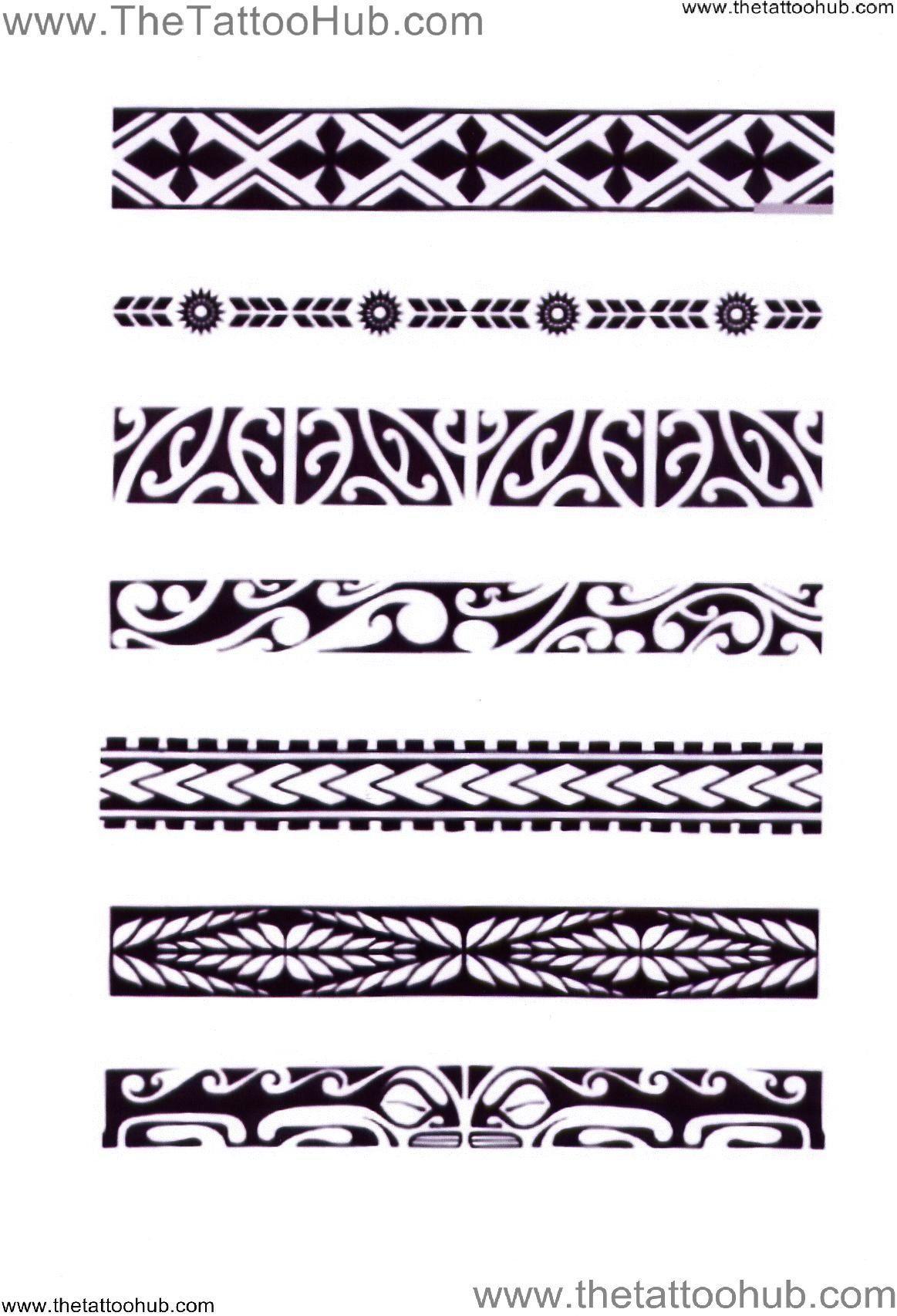 Polynesian tattoo armband googlesuche polynesiantattoos