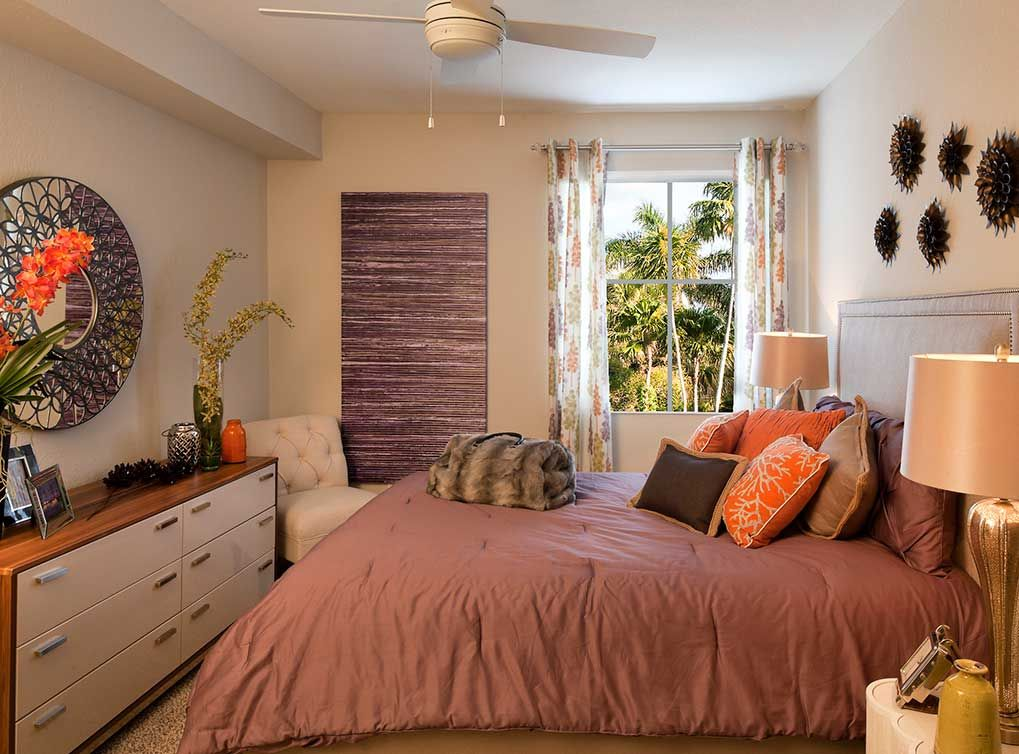 AMLI Dadeland Apartments In Miami, FL Feature Spacious Bedrooms. Some  Apartments Come With Walk